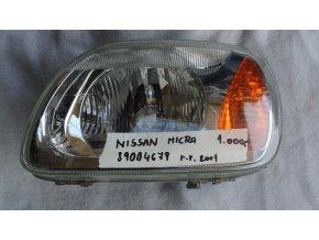 Světlomet levý, přední Nissan Micra č. 89004679