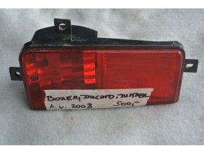 Mlhové světlo levé zadní Boxer, Ducato, Jumper