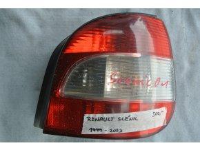 Zadní světlo pravé Renault Scénic