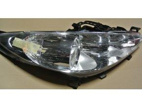 Světlomet pravý, přední Peugeot 207 č. 89900883