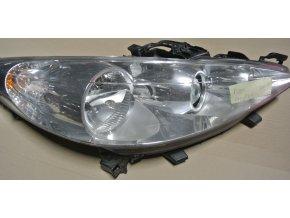 Světlomet pravý, přední Peugeot 207 č. 89901969