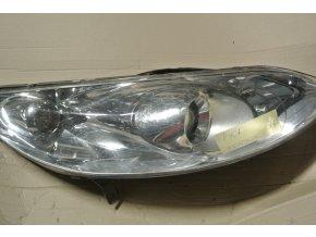 Světlomet pravý, přední Peugeot 407 č. 0301213604