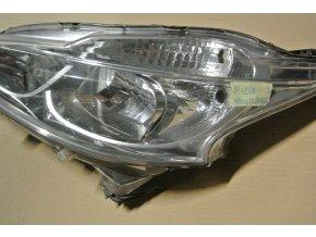 Světlomet levý, přední Peugeot 208 č. 9802221880