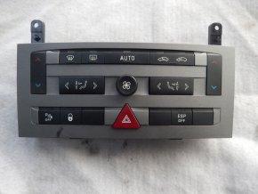 Panel ovládání topení Peugeot 407 č. 96573322