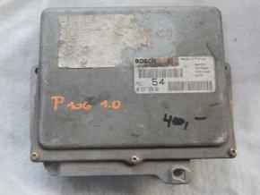 Řídící jednotka motoru 1.0 i Peugeot 106 č. 9623792680, 0261208943