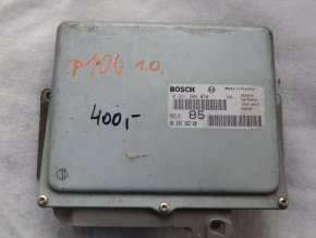 Řídící jednotka motoru 1.0 i Peugeot 106 č. 9624936280, 0261204050