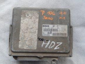Řídící jednotka motoru 1.1 i Peugeot 106, Citroen Saxo č. 9620398980, 0261203736
