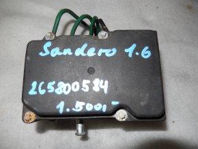 Řídící jednotka ABS Dacia Sandero, Logan č. 265800584