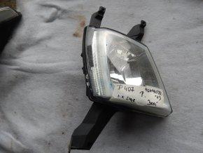 Halogenová svítilna přední pravá Peugeot 407 č. 964194580