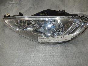 Světlomet levý přední Peugeot 206 č. 9628666880