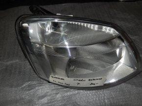 Světlomet pravý přední Citroen Berlingo č. 9644150880