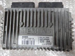 Řídící jednotka převodovky-automat 2.0 i Citroen Xsara Picasso č. 9661029680, S118047556B