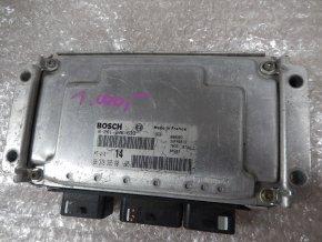 Řídící jednotka motoru Citroen Xsara Picasso 1.6 i  č. 9637839580, 0261206633