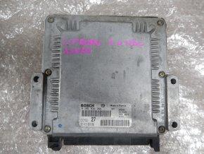 Řídící jednotka motoru ECU BOSCH EDC15C2 Citroën Xwsara 2.0 HDi 0281010369 9641306480