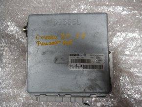 Řídící jednotka motoru 2.5 D Citroen XM, Peugeot 605 č. 0281001336, č. 9619559680