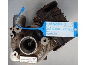 Turbodmychadlo GARRETT Peugeot 407, Citroën C5, C6 3.0 HDi VW Passat V 2.0 TDi č. 776403-2
