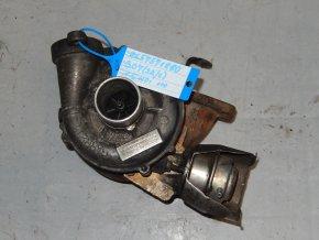 Turbodmychadlo GARRETT Citroen C4, Peugeot 307,308,407 Ford Focus, C-Max 1.6 HDi č. 9657571880