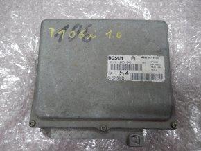 Řídící jednotka motoru 1.0 i Peugeot 106 č. 0261203943 č 9623792680