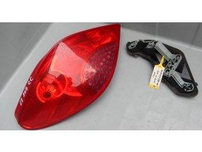 Zadní levé světlo Peugeot 207 Cabrio  č. 9680231380-00