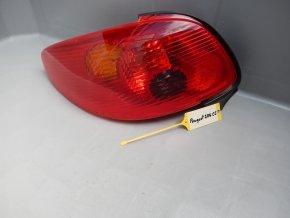 Zadní světlo levé Peugeot 206 Cabrio