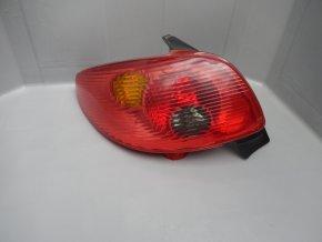 Zadní světlo levé Peugeot 206