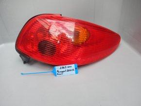 Zadní světlo pravé Peugeot 206 č. 2563