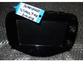 Navigace, radio, dotykový display, Bluetooth C1, Toyota Aygo, Peugeot 108  86140-0H020