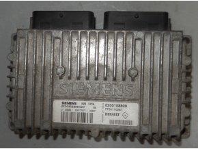 Řídící jednotka motoru 1.4 automat Siemens Renault Kangoo č. 8200108800   7700110261   S105280027B