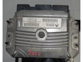 Řídící jednotka motoru 2.0 Johnson Controls Renault Captur,Clio,Kangoo, Megane,Scénic č. 8200509963    21585753-6A     7178007289