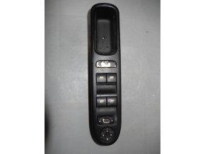 Elektrické ovládání oken, přepínač zrcátek Valeo Peugeot 207 č. E30095-06