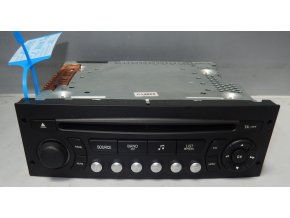 Rádio CD  Citroen C4 Picasso č. 96660456XT     0307090