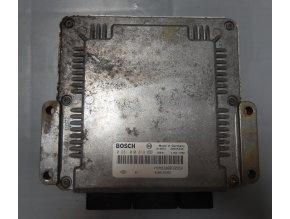 Řídící jednotka motoru 1.9 DCi Bosch Renault Megane/Scénic I č. 0281010819    HOM8200039569    8200166362