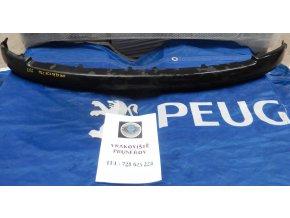 Peugeot 206 lišta / spojler předního nárazníku  9628579177