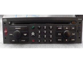 Rádio CD DVD GPS   Citroen C5, C8     96553199ZE