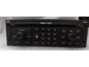 Rádio CD GPS  Peugeot 807   14014665XT