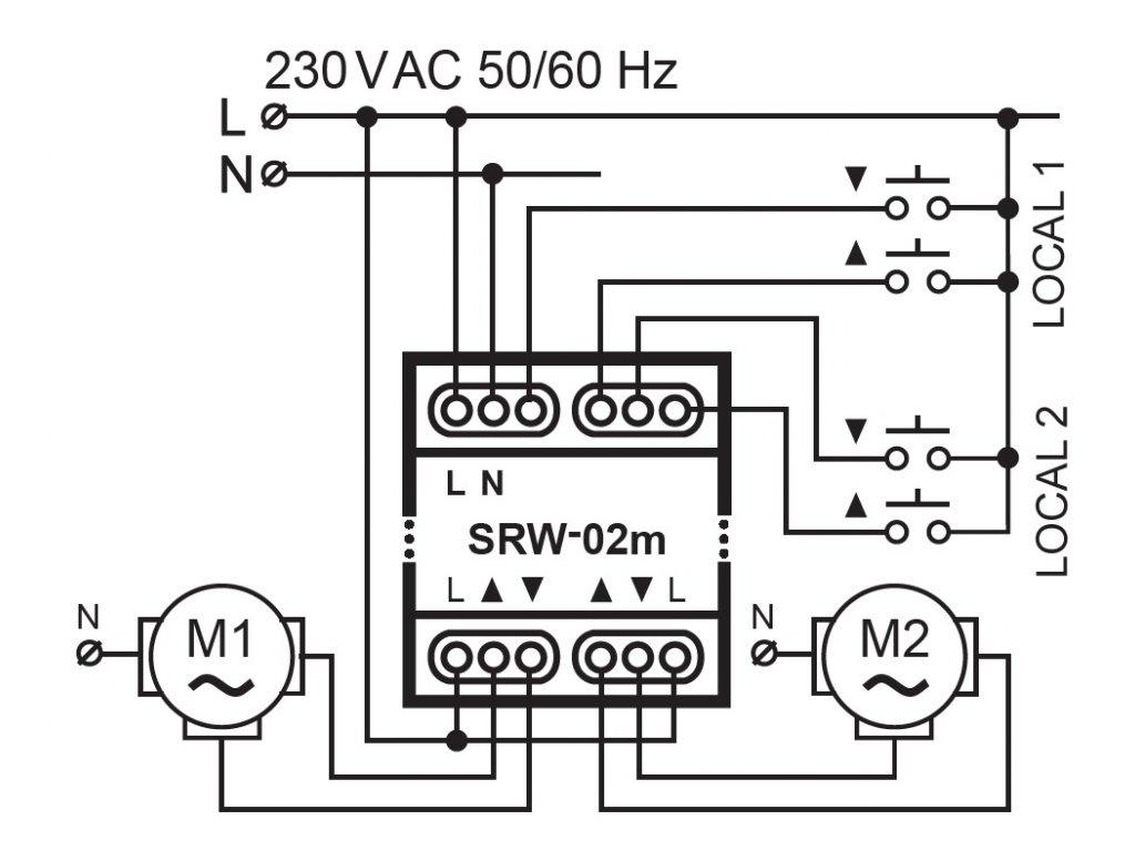 110 2 wi fi modul pro ovladani 2 rolet a zaluzii supla srw 02m