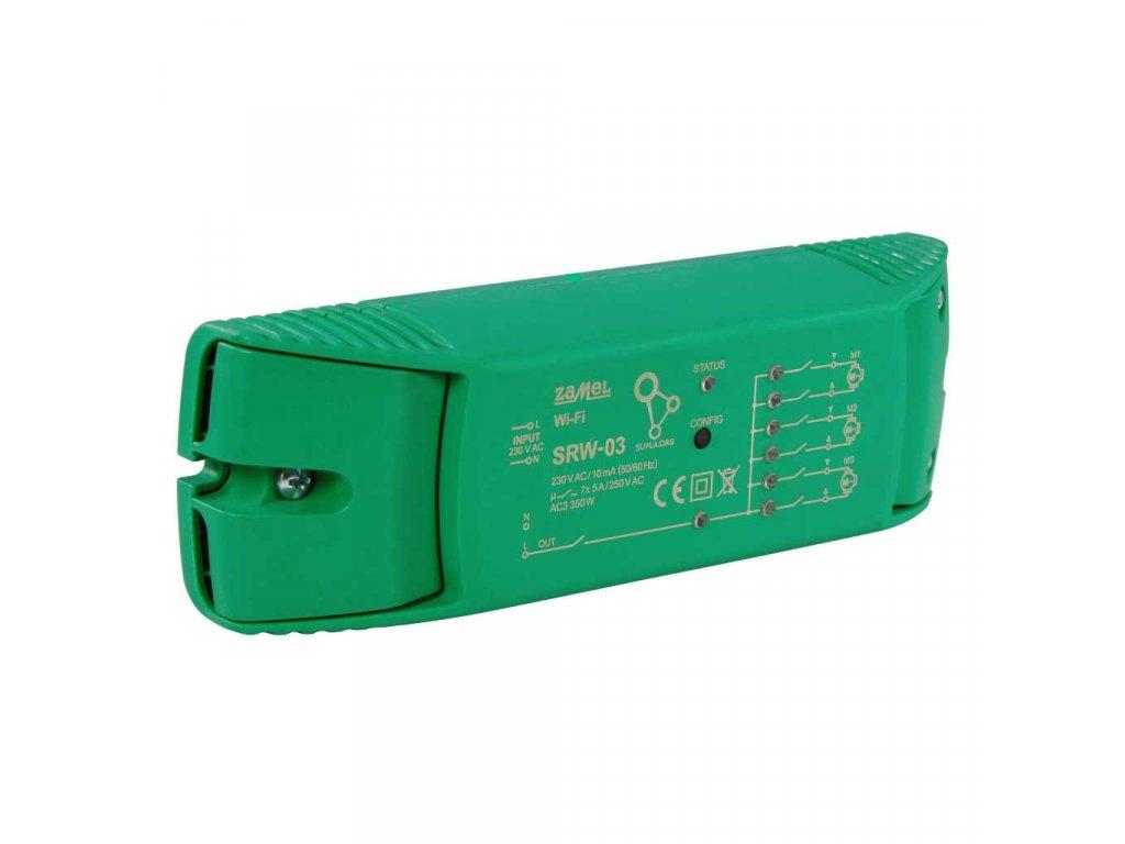 SRW-03 | Wi-Fi ovládání 3 rolet nebo žaluzií a spínání el. zařízení, SUPLA