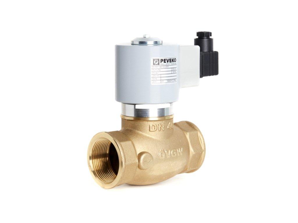 EVPE - Přímo ovládaný ventil, DN 5 - DN 40, NC, až 800 kPa, (BIOPLYN)