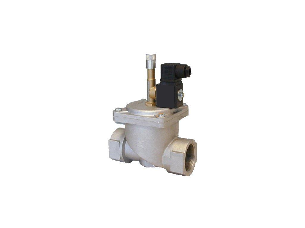 EVHNC /L - Havarijní plynový ventil, DN 15 ÷ DN 50, 50 kPa, NC, závit