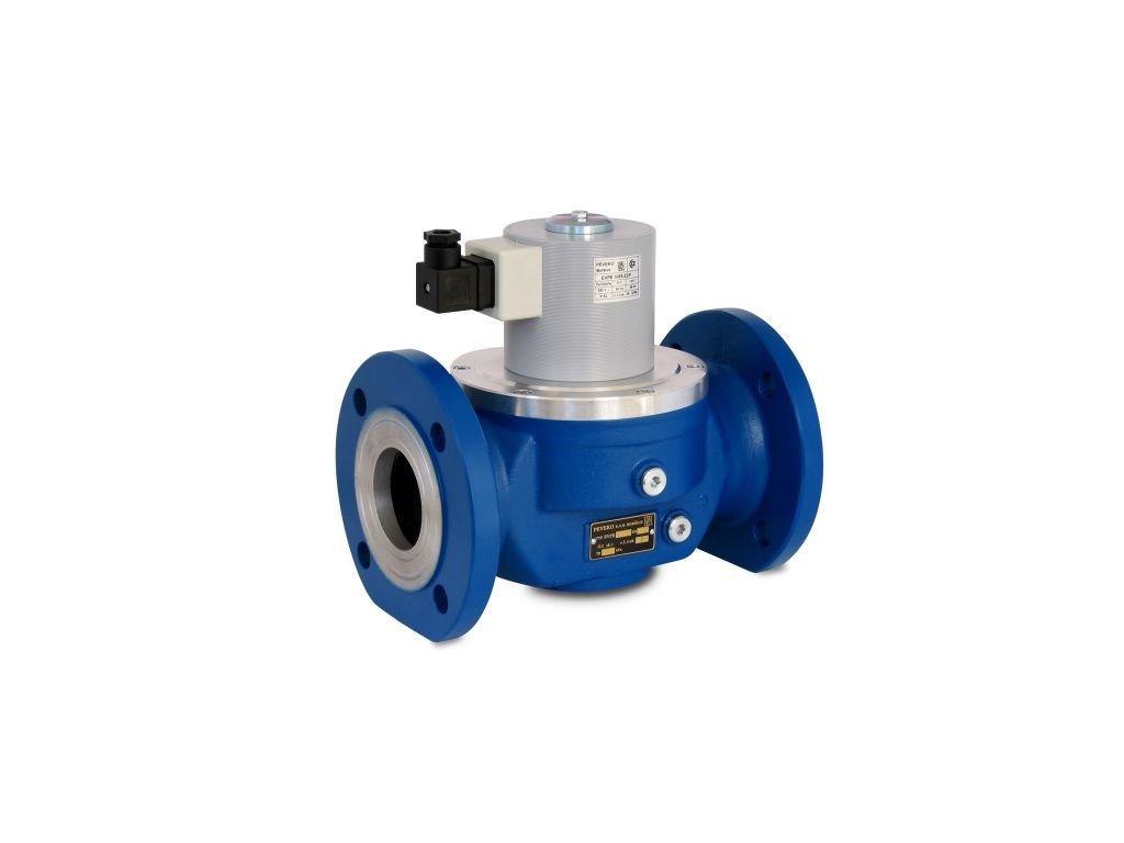EVPE /P BIOPLYN - Přímo ovládaný elektromag. ventil, DN 50 ÷ DN 100, NC, až 400 kPa, příruba