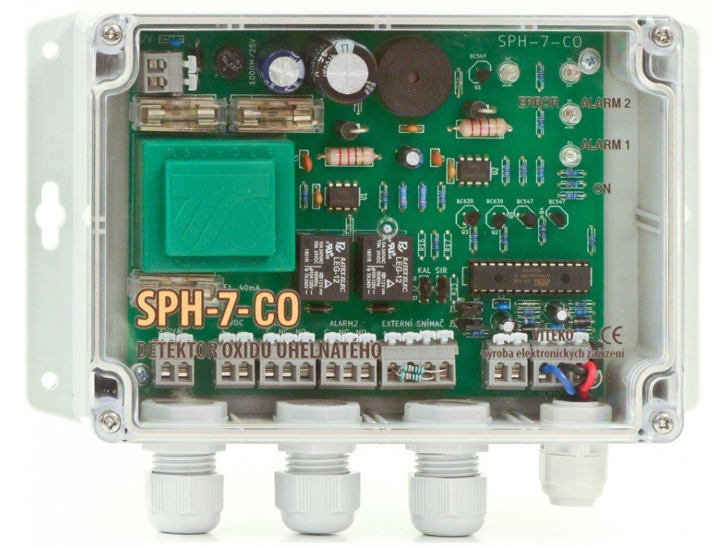 SPH 7 | Dvoustupňový detektor hořlavých plynů