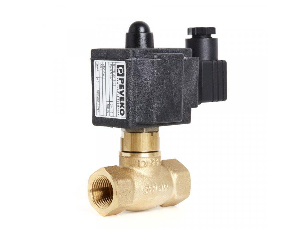 EVPI 2 | Nepřímo ovládaný dvoucestný elektromag. ventil, DN 15 ÷ DN 40, 800 kPa, NO