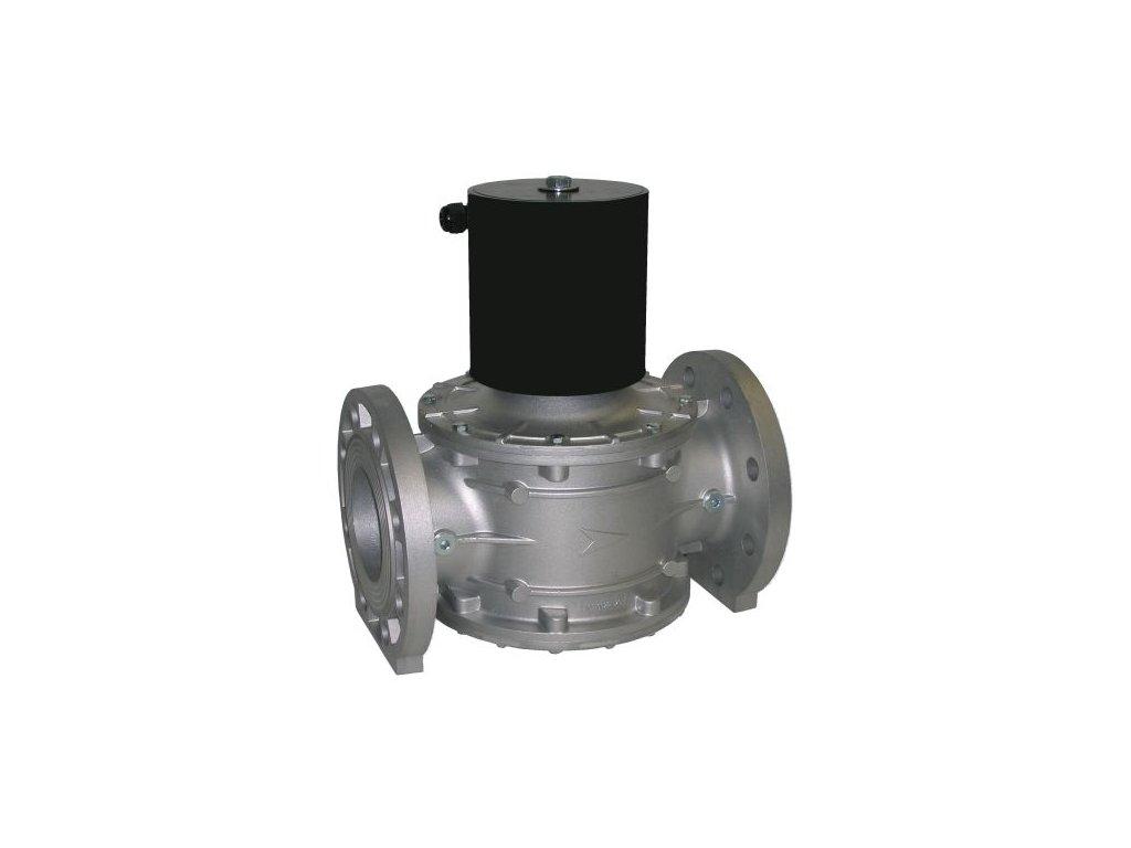 W-EVPE - Plynový ventil s pomalým otevíráním a regulací průtoku, DN 80 až 100, 0 až 20kPa