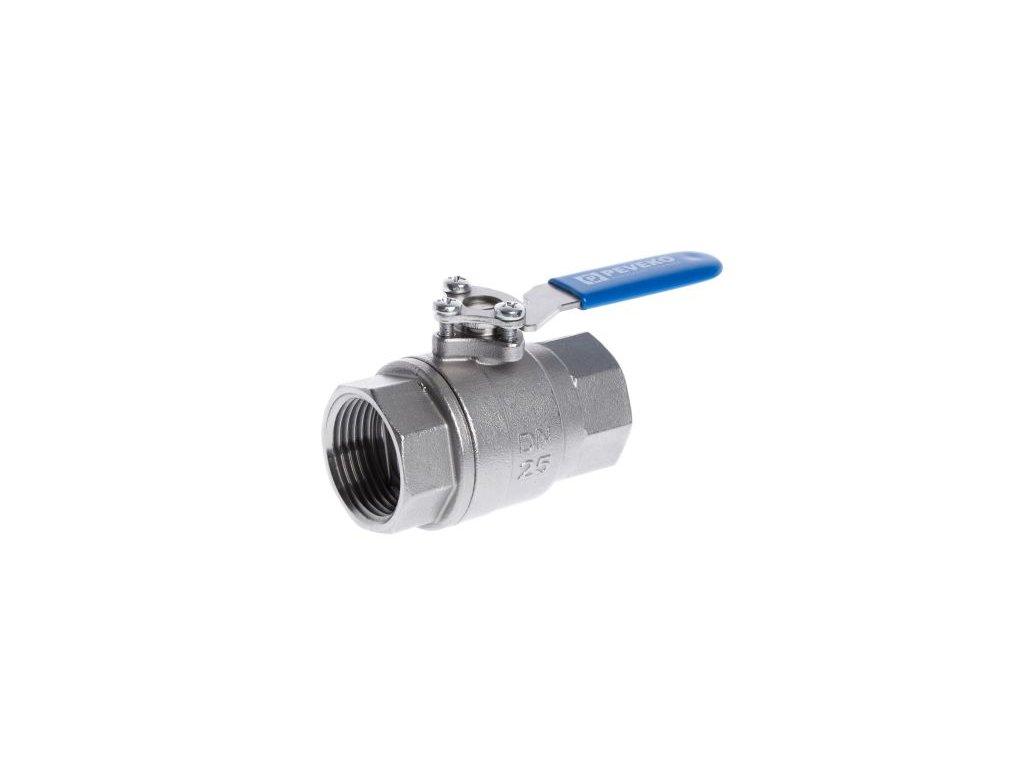 SKP | Kulový kohout pro přestavbu na Chytrý ventil, PN 16, PTFE, nerezová ocel