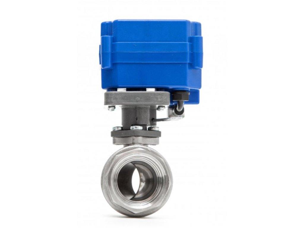 Inteligentní ventil pro zabezpečovací systémy JABLOTRON, PARADOX a ochrana před vytopením vodou
