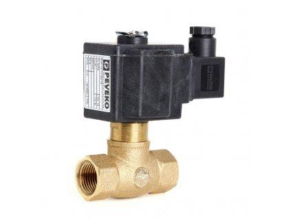 EVF | Přímo ovládaný elektromag. ventil, přímý, DN 15 ÷ DN 30, 5 kPa