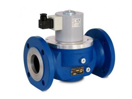 EVPE /P | Přímo ovládaný elektromag. ventil, DN 50 ÷ DN 100, 400 kPa, NC, BIOPLYN, příruba