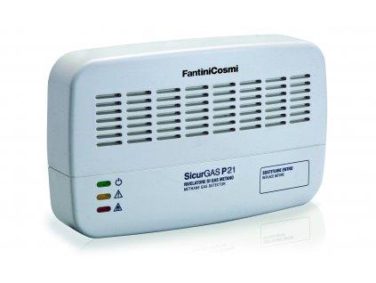 FC P | Detektor hořlavých plynů metan, LPG a CO, relé výstup, zvukový alarm