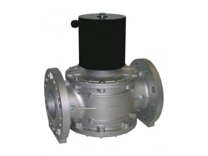 W-EVPE | Plynový ventil s pomalým otevíráním a regulací průtoku, DN 80 ÷ DN 100, 0 ÷ 20 kPa