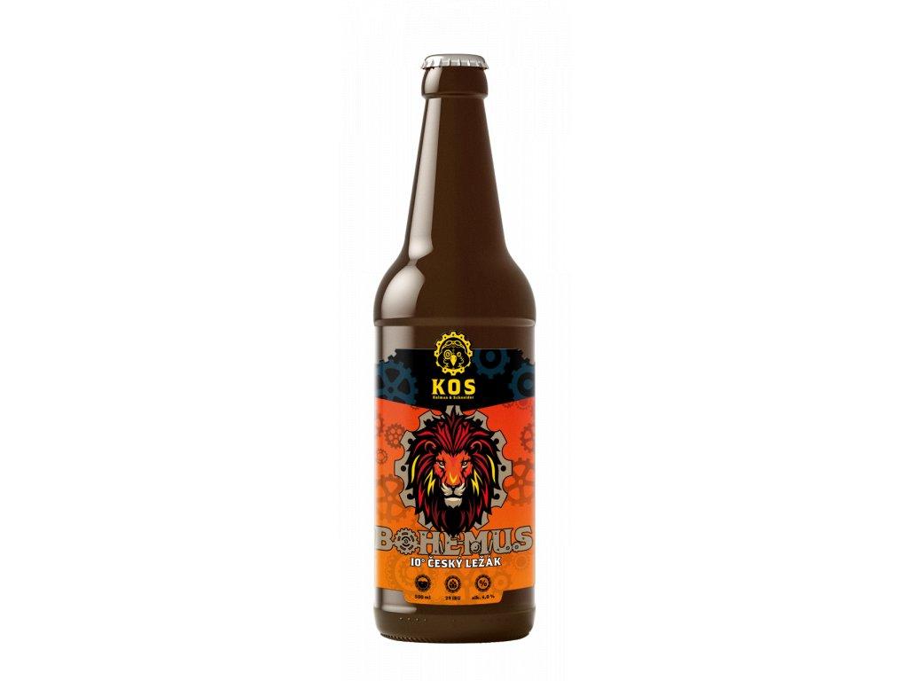 bottle mockup design 03 BOHEMUS crop